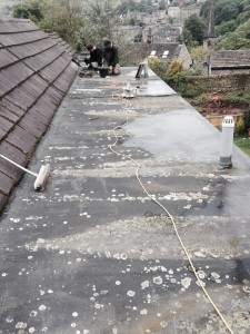 Flat roofing in Halifax